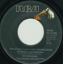 Image of Record: Oh! Susanna by Stephen Foster. Don Charles Presents The Singing Dogs. - Record, Phonograph