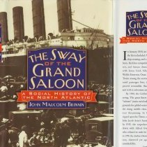Image of Sway of the Grand Saloon, The: A Social History of the North Atlantic. - Book