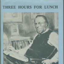 Image of Three Hours for Lunch: The Life and Times of Christopher Morley. - Book