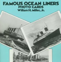 Image of Famous Ocean Liner Postcards. - Book