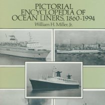 Image of Pictorial Encyclopedia of Ocean Liners 1860-1994. 417 Photographs. - Book