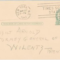 Image of enclosure-postcard-address