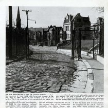 Image of page 53 Stevens Institute, Ninth Street gate to Castle Point Terrace