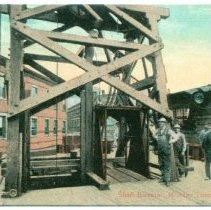 "Image of Postcard image: digital scan of postcard ""Shaft Elevator, McAdoo Tunnel, New York,"" no date, ca. 1905. - Postcard"