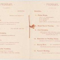Image of program, pp. [4-5]