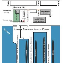 Image of NDL pier layout