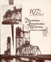 Image of Report, 1958: 107th Annual Report of the Delaware, Lackawanna and Western Railroad, for year ending Dec. 31, 1958. - Report, Annual