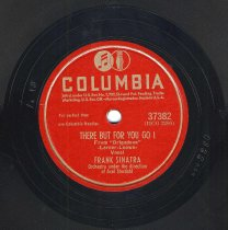 """Image of Record: """"There But For You Go I."""" Vocal by Frank Sinatra. Conducted by Axel Stordahl. Columbia Records. 78 rpm. No.37382 [HCO2280]. - Record, Phonograph"""