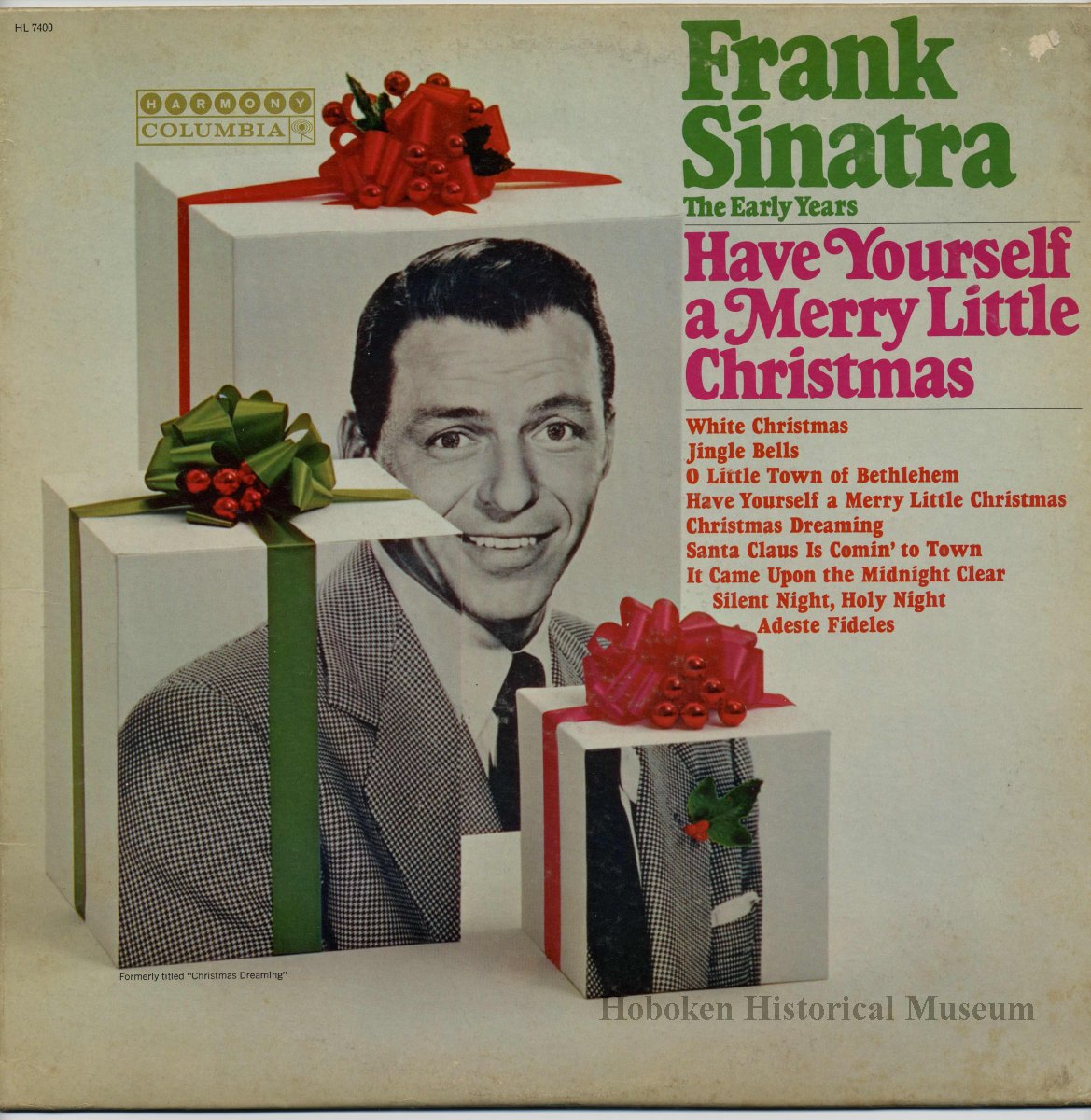 Frank Sinatra Have Yourself A Merry Little Christmas.Record Album Frank Sinatra Frank Sinatra The Early Years