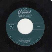 """Image of Record : """"Moonlight In Vermont."""" Vocal by Frank Sinatra. Conducted by Billy May. Capitol Records. 45 rpm Extended Play. No.EAP 3-920 [F3-920], Part 3. - Record, Phonograph"""