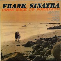 "Image of Record album, Frank Sinatra: ""Come Back To Sorrento."" Columbia Records. 33 rpm. Mono. No.CL 1359 [ x""Lp""47360 / 47361] - Record, Phonograph"