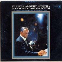 "Image of Record album, Frank Sinatra : ""Francis Albert Sinatra & Antonio Carlos Jobin"". Reprise.33rpm. Stereo. FS-1021. - Record, Phonograph"