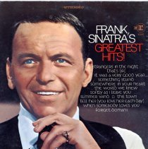 "Image of Record album, Frank Sinatra : ""Frank Sinatra's Greatest Hits "". Reprise.33 rpm.Stereo. FS 1025 - Record, Phonograph"