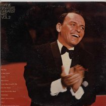 "Image of Record album, Frank Sinatra : ""Frank Sinatra's Greatest Hits Vol.2 "". Reprise. 33 rpm. Stereo. FS 1034 - Record, Phonograph"