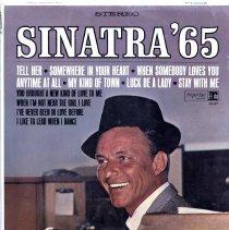 "Image of Record album, Frank Sinatra : ""Sinatra' 65 "". Reprise.33 rpm. Stereo. RS-6167. - Record, Phonograph"