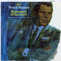 "Image of Record album, Frank Sinatra : ""September Of My Years "". Reprise.33 rpm.Mono. F-1014. - Record, Phonograph"