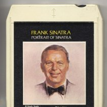 "Image of 8-Track Cartridge, Frank Sinatra : ""Portrait Of Sinatra."" Reprise. K.864039. Stereo - Cartridge, Tape"