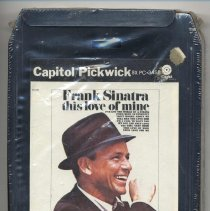 """Image of 8-Track Cartridge, Frank Sinatra : """"This Love Of Mine."""" Capitol/Pickwick. P8-3458. Stereo - Cartridge, Tape"""