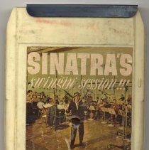 "Image of 8-Track Cartridge, Frank Sinatra : ""Sinatra's Swingin' Session."" Capitol. 8XT 1491. Stereo. - Cartridge, Tape"