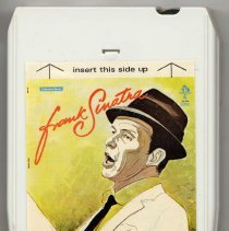 "Image of 8-Track Cartridge, Frank Sinatra : ""Frank Sinatra ."" Cameron. FS-5004. Stereo. - Cartridge, Tape"