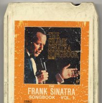 "Image of 8-Track Cartridge, Frank Sinatra : ""The Frank Sinatra Song Book Volume 1."" Reprise. 8FH-5230. Stereo. - Cartridge, Tape"