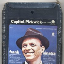 """Image of 8-Track Cartridge, Frank Sinatra : """"Nevertheless I'm In Love With You."""" Capitol/Pickwick. 8XPC-3456. Stereo - Cartridge, Tape"""