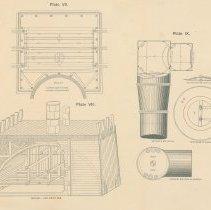 Image of Plates 7, 8, 9 full sheet