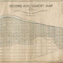 Image of Second Assessment Map of the Hoboken and Weehawken Drainage Commissioners, 1869. - Map