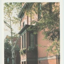 Image of Gallagher Postcard: #8. Corner of 11th St. & Garden St. Photo by Brian Gallagher. - Postcard