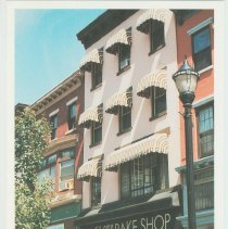 Image of Gallagher Postcard: #11. Carlos Bakery on 1st & Washington St. Photo by Brian Gallagher. - Postcard