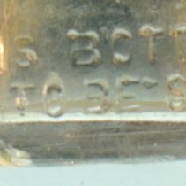 Image of detail bottom back
