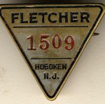 Image of Tool check from the W. & A. Fletcher Company, Hoboken, no date, ca. 1910-1928. - Check, Tool