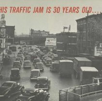 Image of This Traffic Jam is 30 Years Old. Hoboken Chamber of Commerce, no date [ca. 1963-64]. - Booklet
