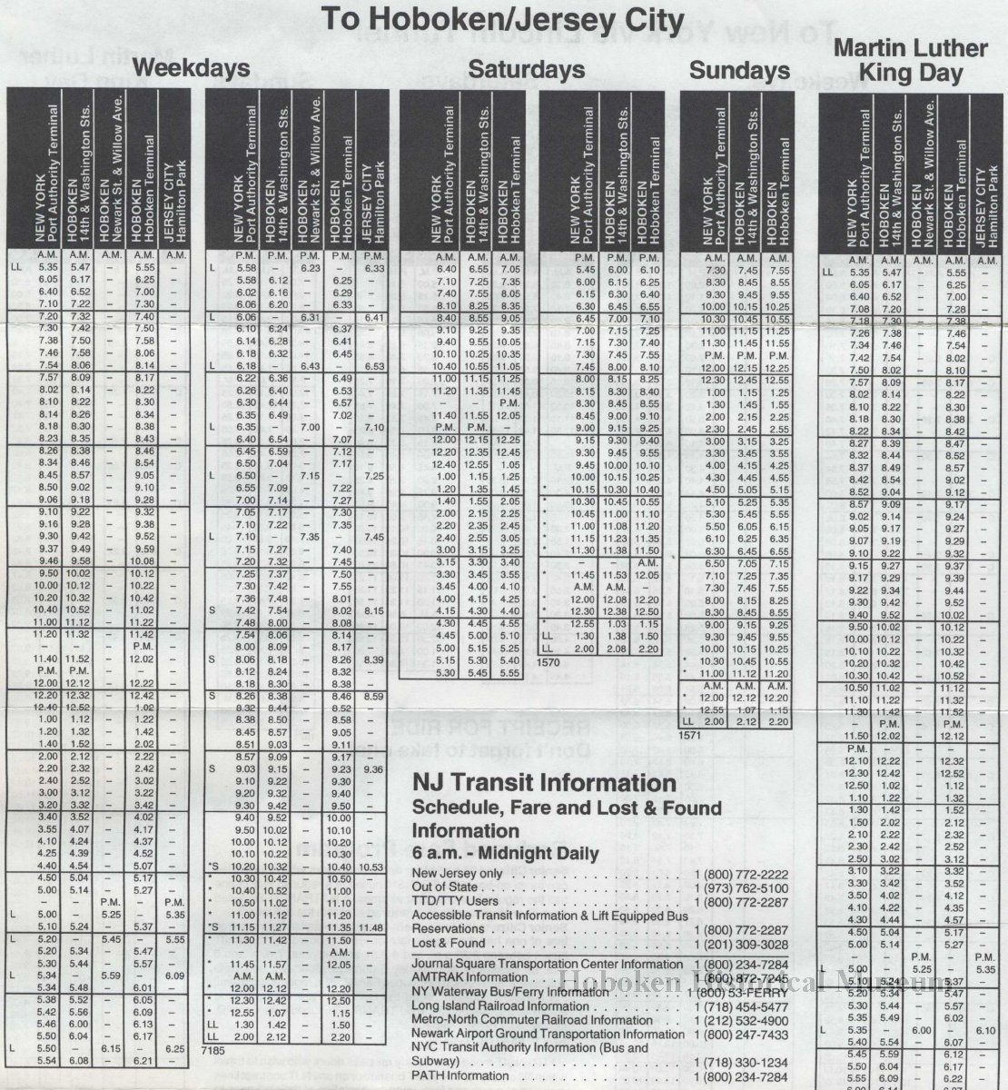 Nj Transit Bus Schedules | Examples and Forms