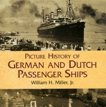 Image of Picture History of German and Dutch Passenger Ships. - Book