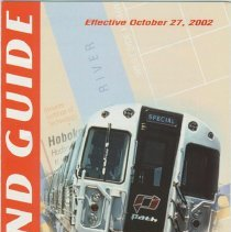 Image of PATH Map and Guide, October, 2002. - Map