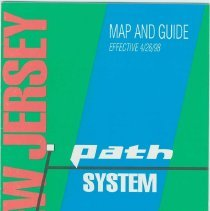 Image of PATH Map and Guide, April, 1998. - Map