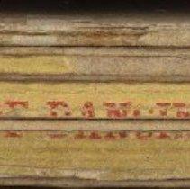 Image of detail of back (spine)
