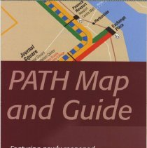 Image of PATH Map and Guide, June, 2003. - Map