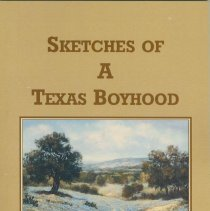 Image of Sketches of A Texas Boyhood. - Book