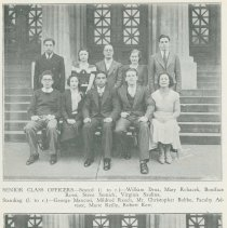 Image of pg [24] class officers;senior