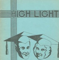 Image of The High Light. Vol. XII, no.4, May, 1933. Senior Issue. Demarest High School, Hoboken. - Yearbook