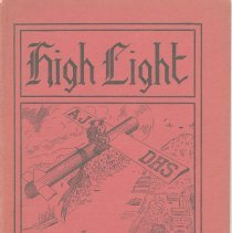 Image of The High Light. Vol. XIV, no.2, January, 1934. Senior Issue. Demarest High School, Hoboken. - Yearbook