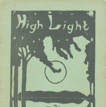 Image of The High Light. Vol. XIV, no.3, March, 1934. Spring Issue. Demarest High School, Hoboken. - Booklet
