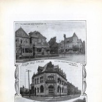 Image of Digital image of black-and-white photos of three street corners, West Hoboken, ca. 1900. - Print, Photographic