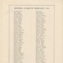 Image of pg [5] class of Feb. 1934