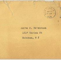 Image of envelope postmarked Nov. 30, 1946