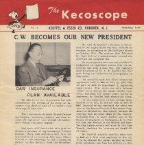 Image of The Kecoscope. No. 2, November 1950. Keuffel & Esser Co., Hoboken, N.J. - Newsletter