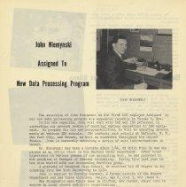 Image of pg 9: John Niemynski, New Data Processing Program