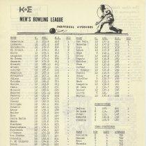 Image of pg 13: men's bowling league